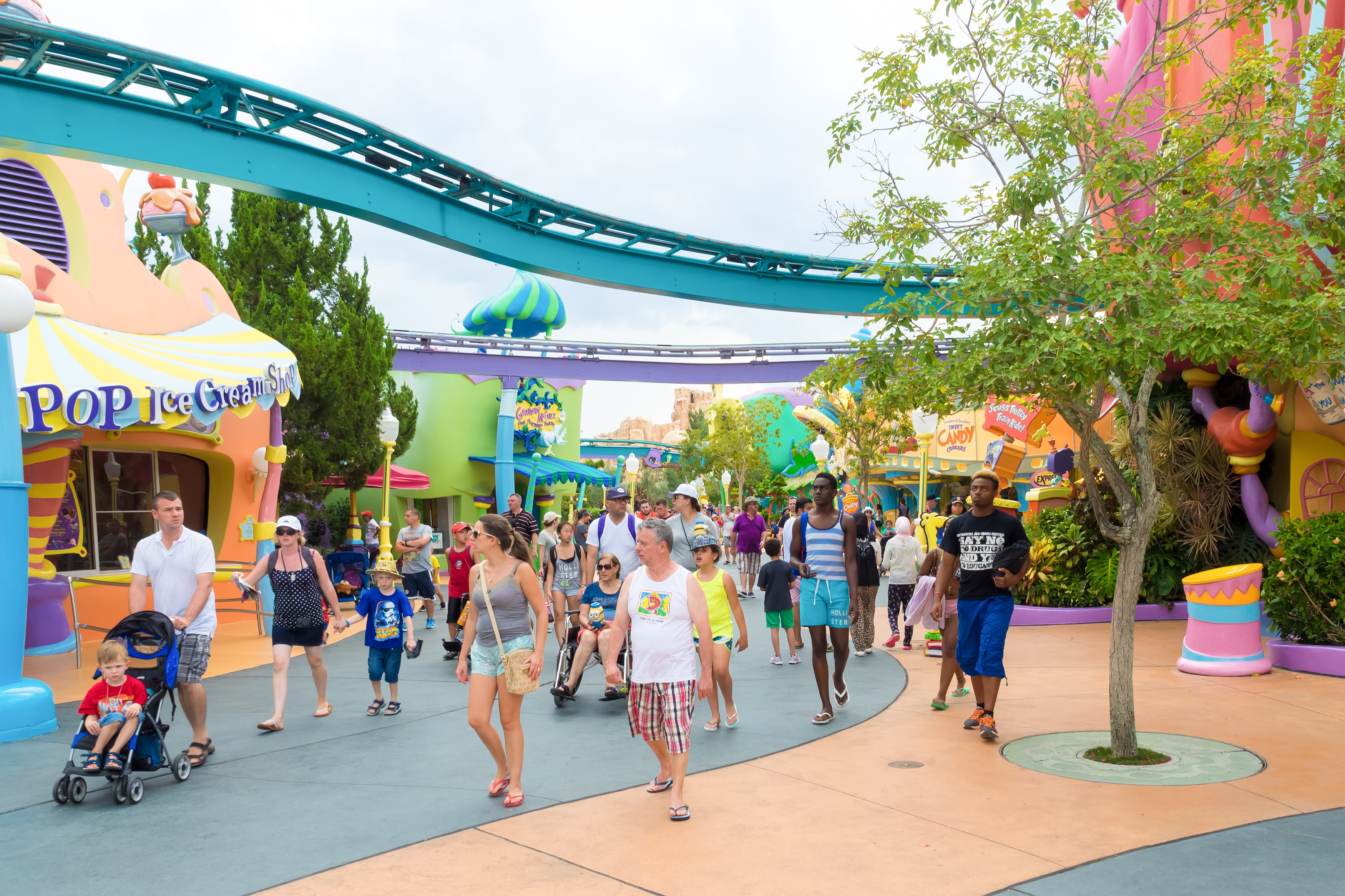 Theme Park Demographics Changing Higher Incomes And More Millennials