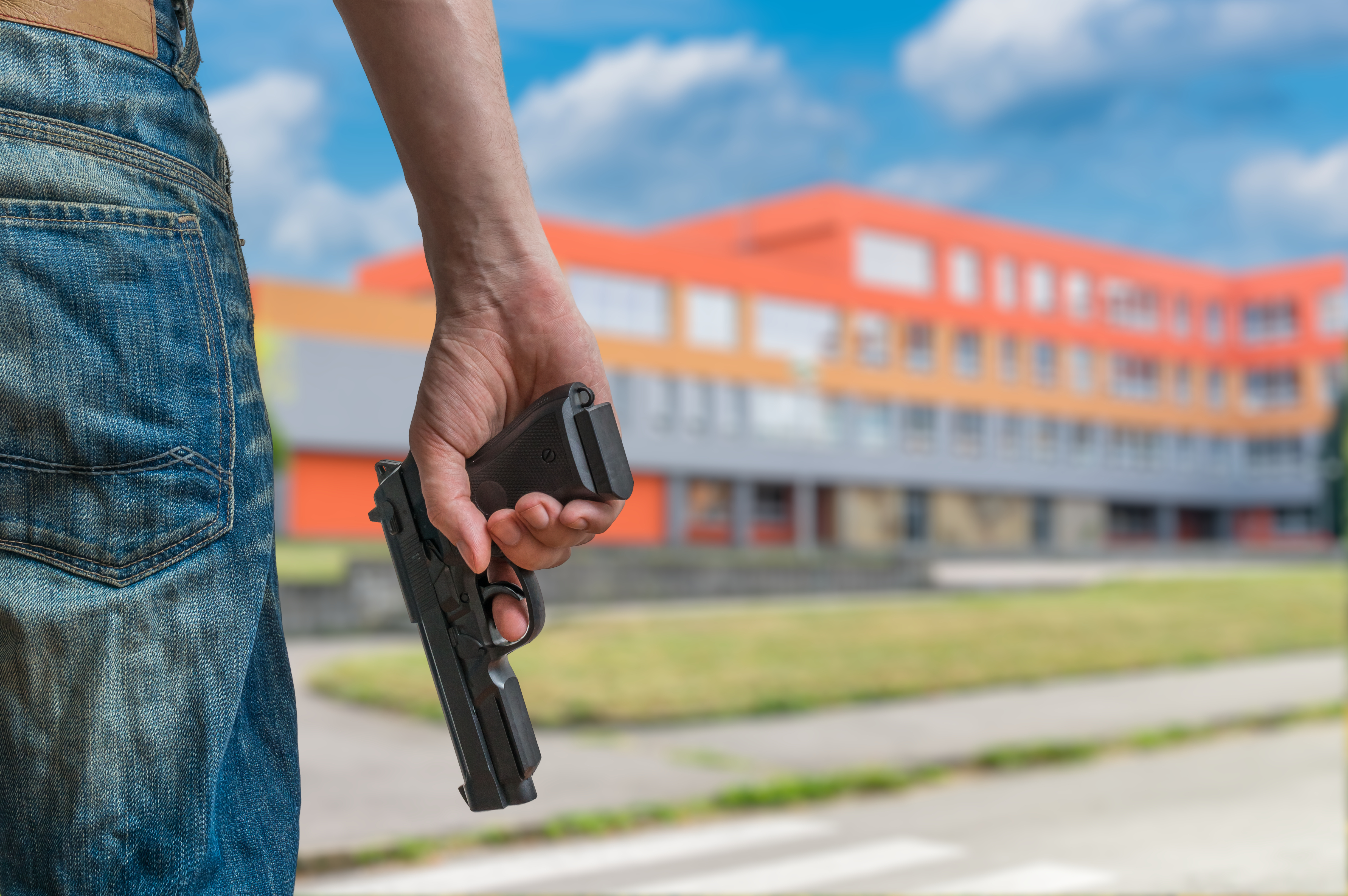 school shooting One student has been injured and a teenager is in police custody after a shooting at a florida high school, as students prepare to rally across the country to protest gun violence.