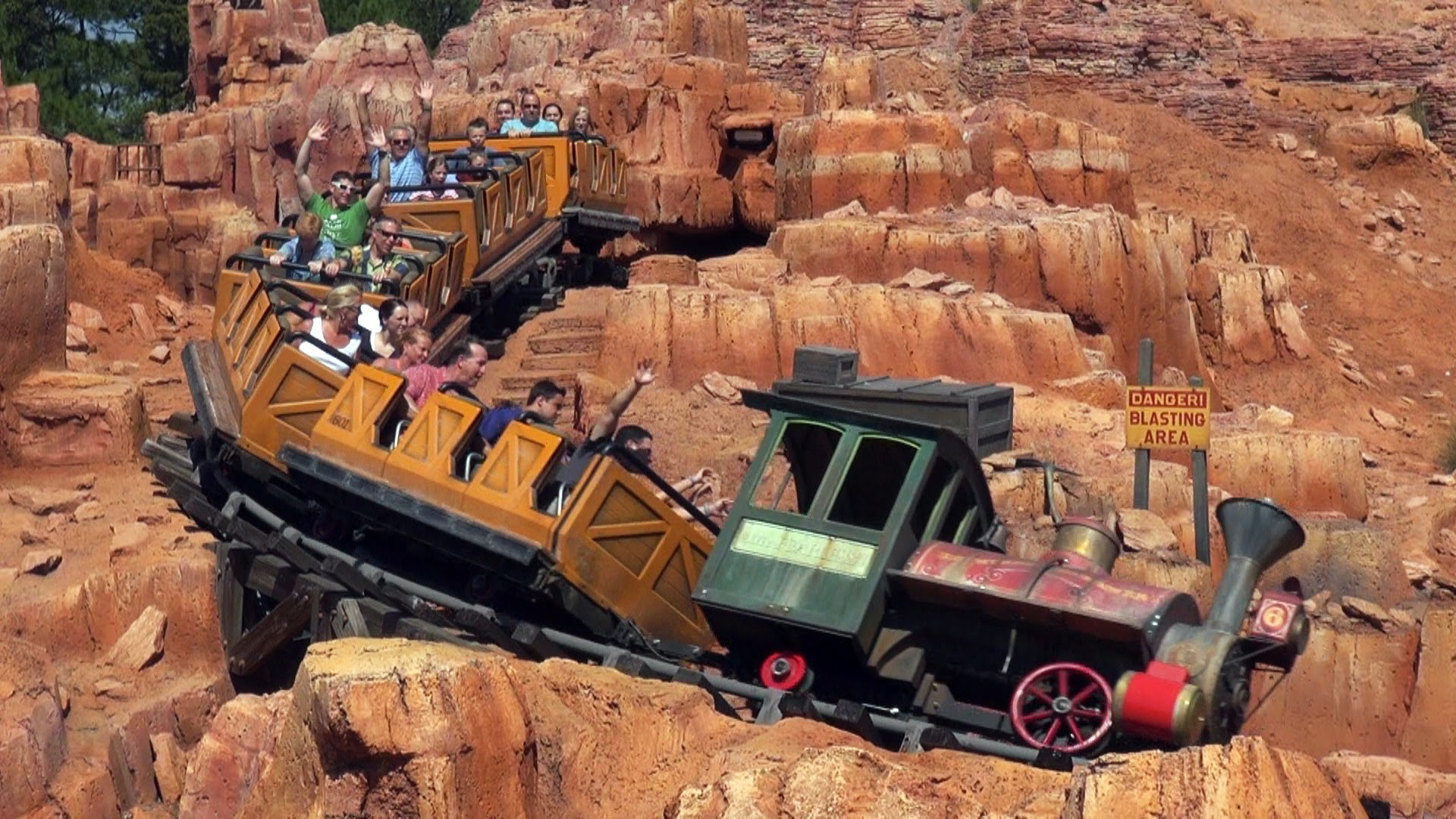 big thunder mountain railroad - photo #2