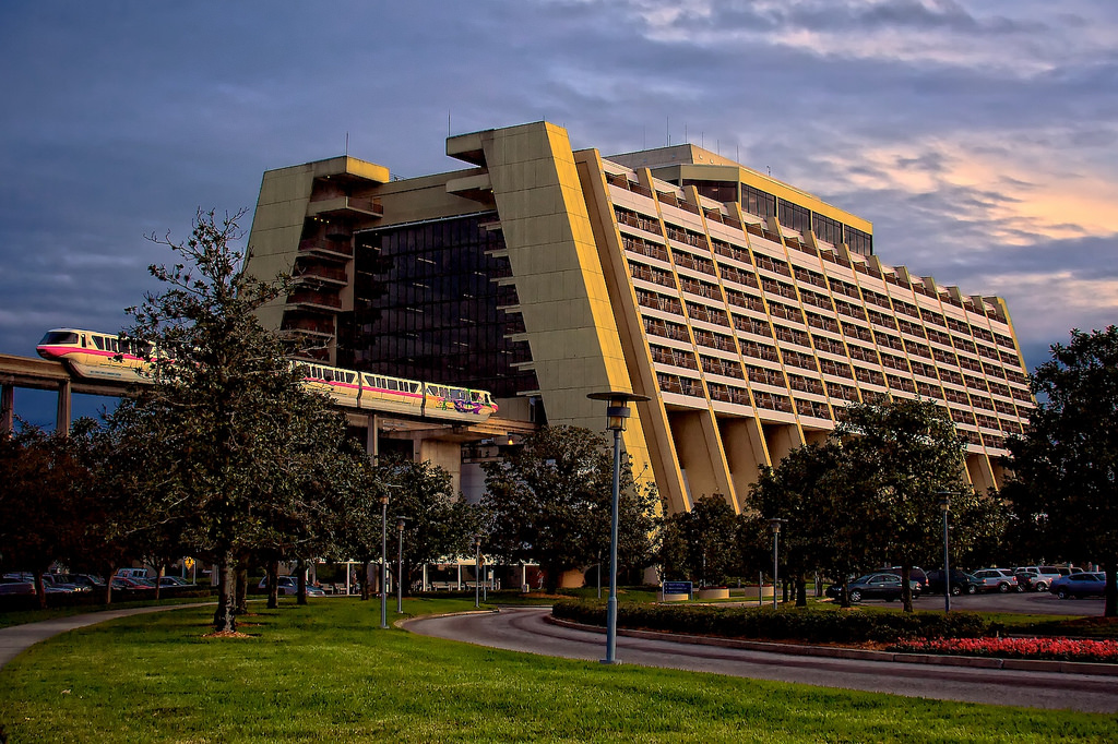 Contemporary Hotel Disney World Florida