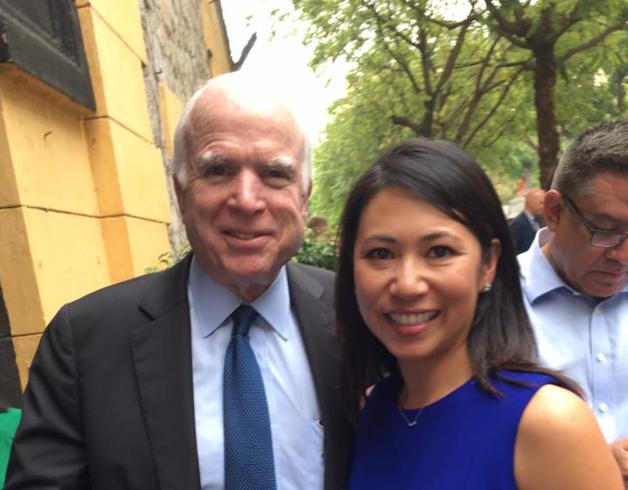 Stephanie Murphy joins John McCain for Vietnam war-era prison tour - Orlando Rising