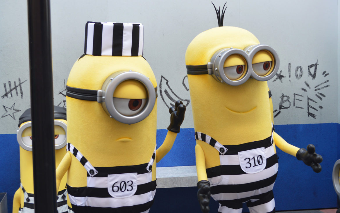 Minions Invade Universal Studios Before Their Newest Movie