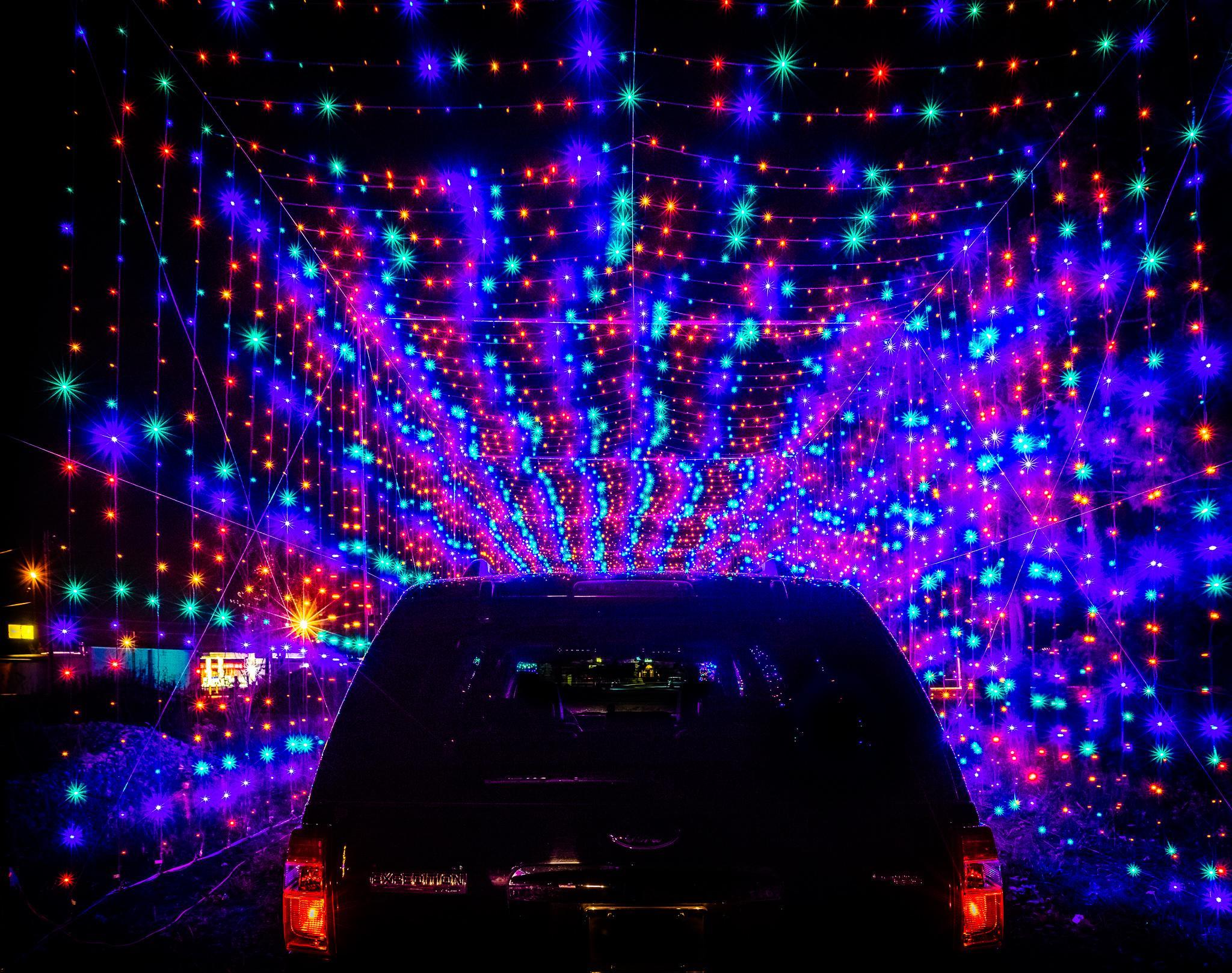 Daytona International Speedway introduces drive-through light show ...